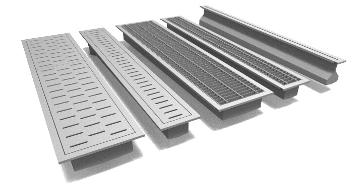 Rockford Separator Stainless Steel Trench Drains