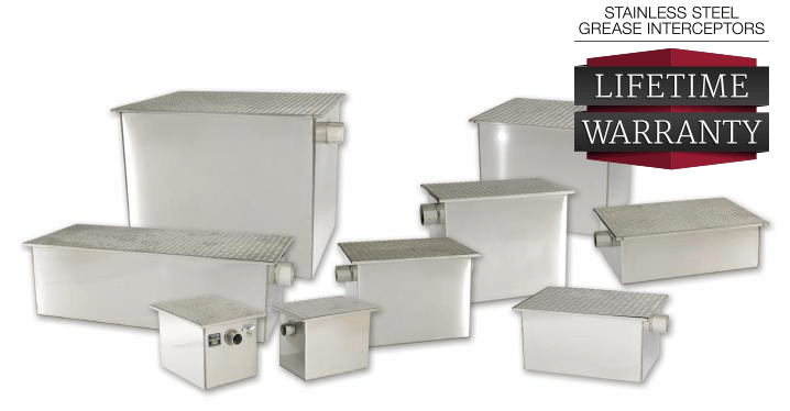 Rockford Separators Stainless Steel Grease Trap
