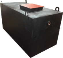 Rockford Separators RGI Series Single Cover Oil Separator